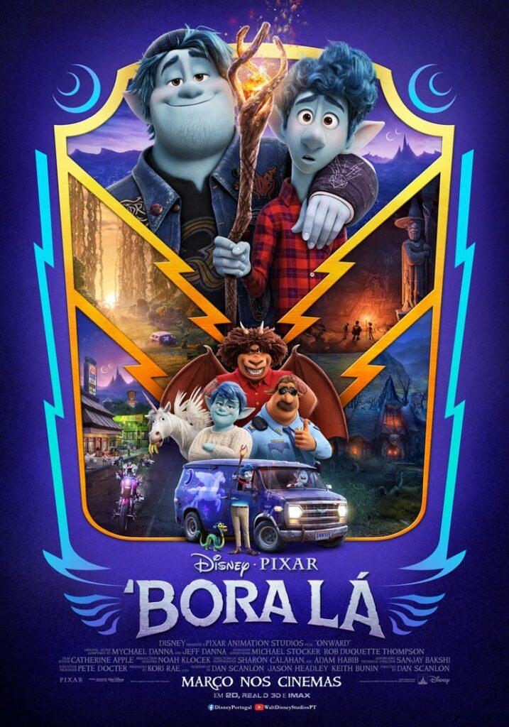 Bora Lá Poster