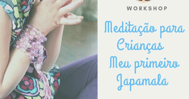 Workshop Arte Meditativa para Crianças