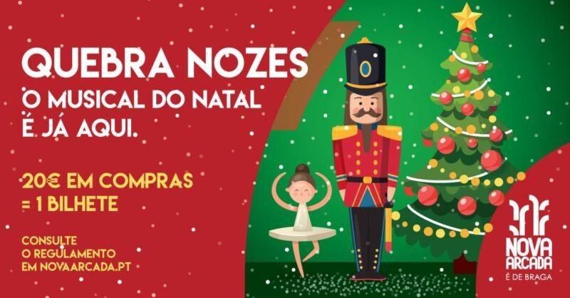 O Quebra-Nozes chega para celebrar o Natal no Nova Arcada