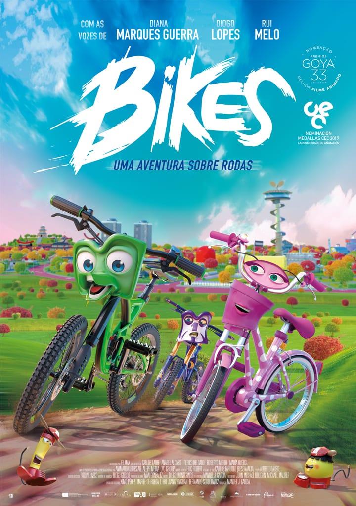 Bikes Uma Aventura sobre Rodas