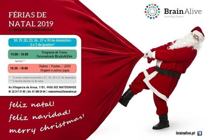 Férias de Natal BrainAlive Matosinhos