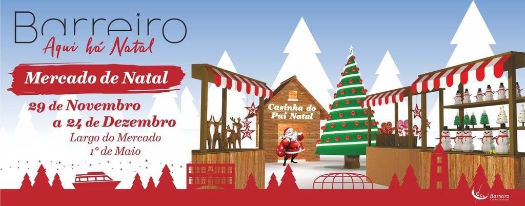 Mercado de Natal Barreiro