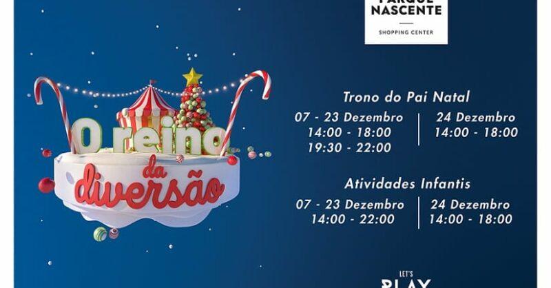 Um Natal Mágico no Parque Nascente!