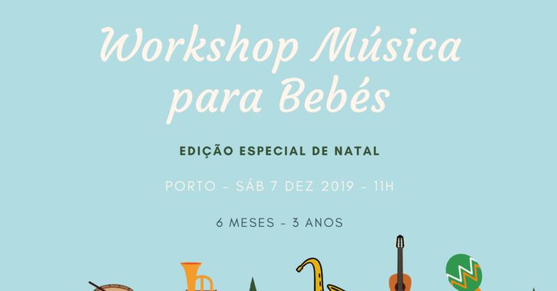 Workshop Música para Bebés – Especial de Natal