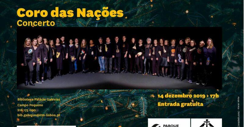 Concerto de Natal pelo Coro das Nações