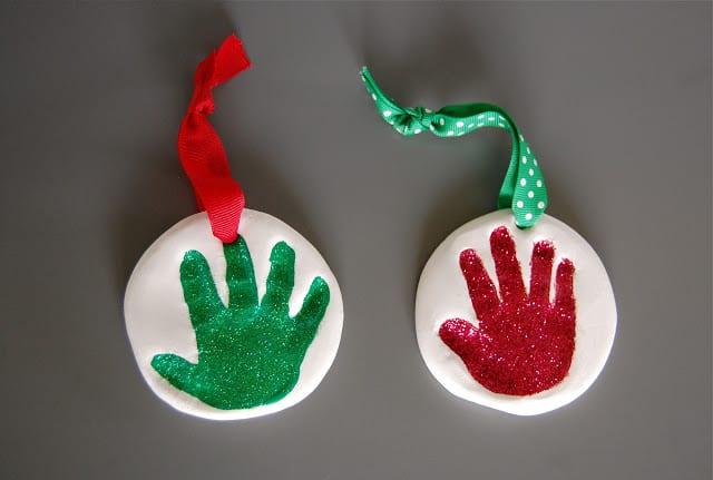decorações de Natal bebé