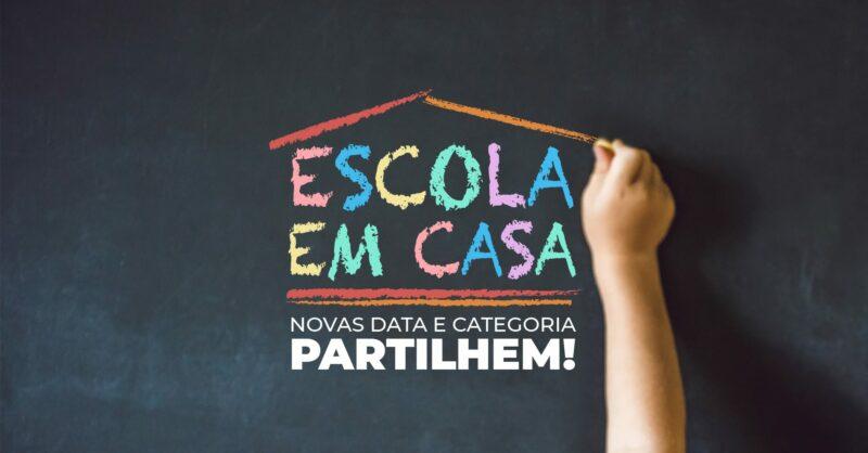 A 3ª edição do projeto Escola Amiga da Criança tem uma nova categoria: Escola Amiga em Casa!