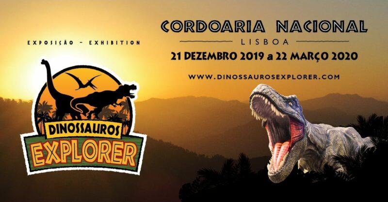 Exposição Dinossauros Explorer em Lisboa para Escolas
