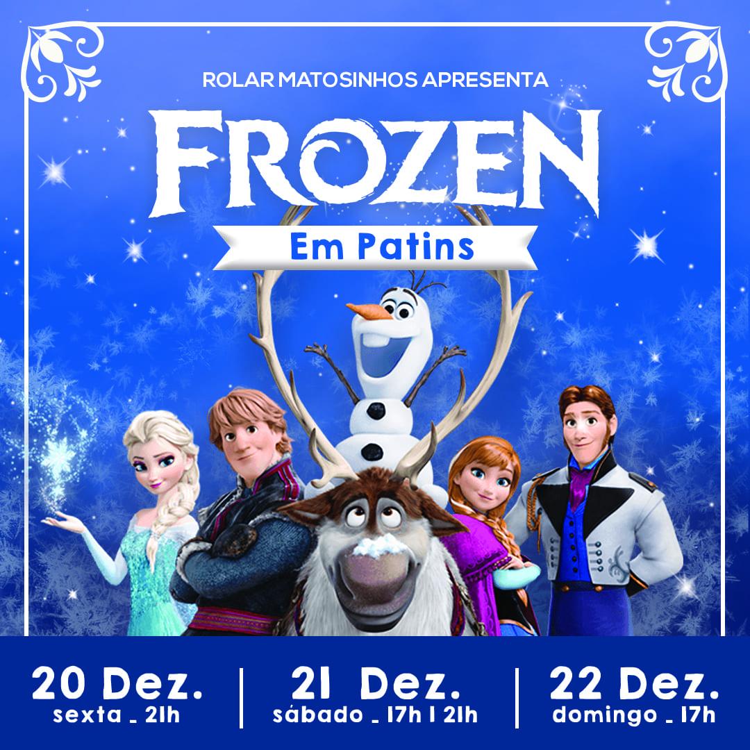 Frozen em Patins