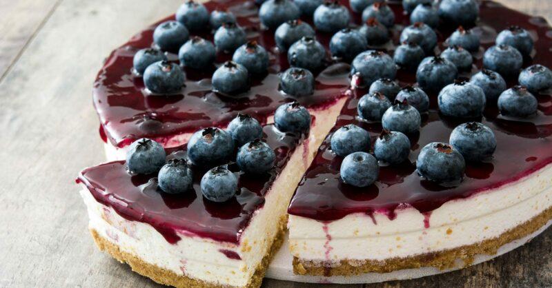 receitas de cheesecake
