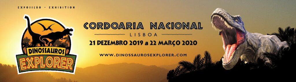 Exposição Dinossauros Explorer - Amarelo