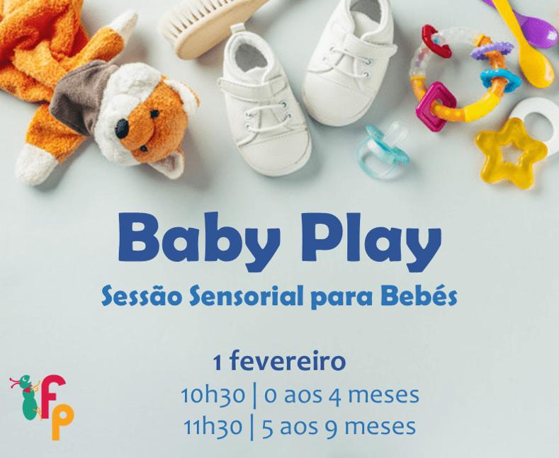 Baby Play | Sessão Sensorial para Bebés