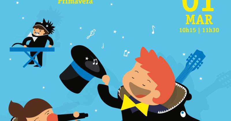 Música com Dragõezinhos – Março