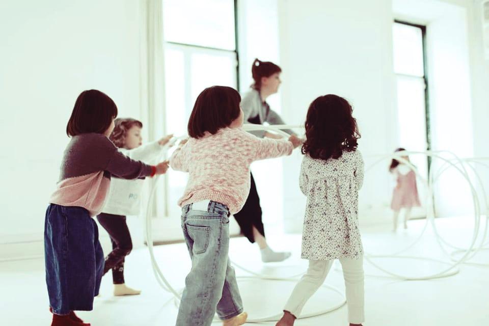 Playgroup BrincArte + oficina Som, Corpo, Dança e Movimento com Baileia