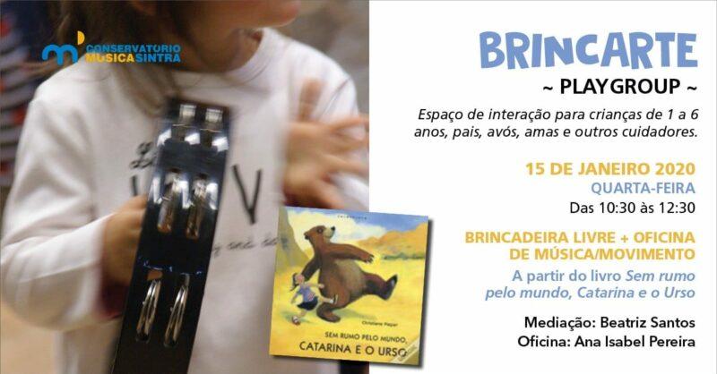 Playgroup BrincArte + Oficina de Música e Movimento