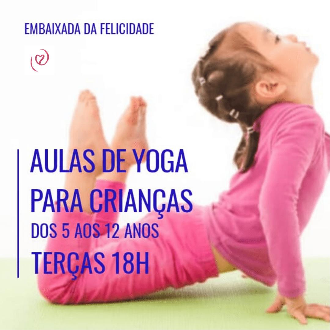 Aulas de Yoga para Crianças
