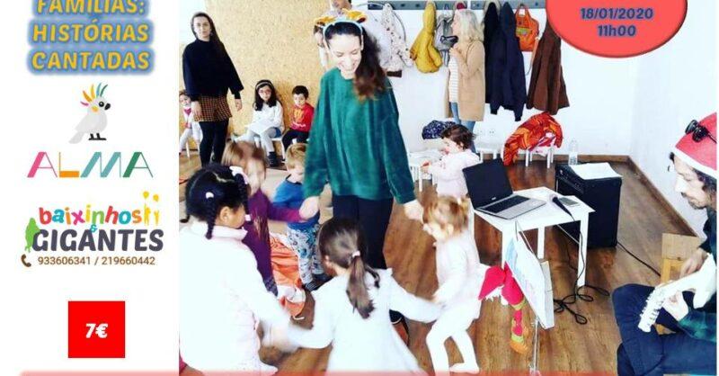 Concerto para Famílias: Histórias Cantadas