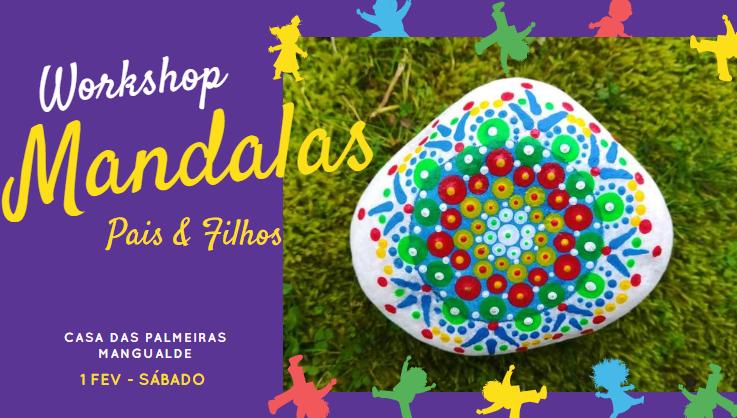 Workshop de Mandalas – Pintura em Pedras