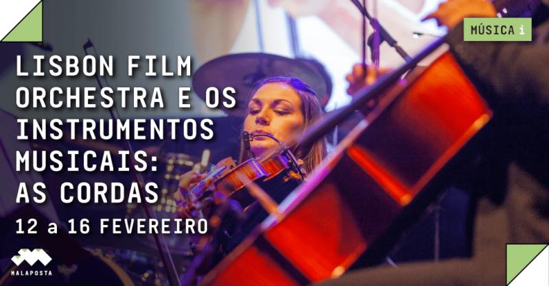Lisbon Film Orchestra e os Instrumentos Musicais: As Cordas | Escolas