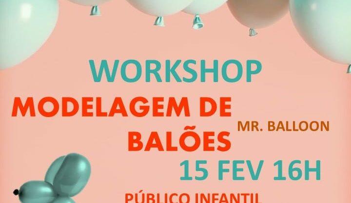 Workshop Modelagem de balões