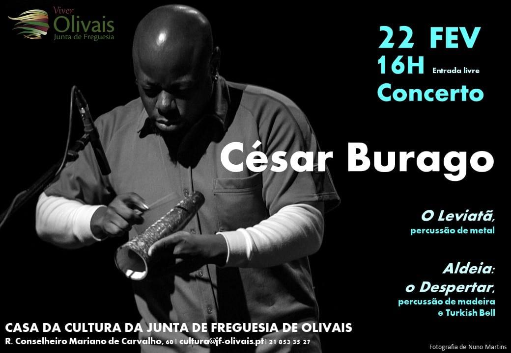 Concerto de pecurssão de César Burago