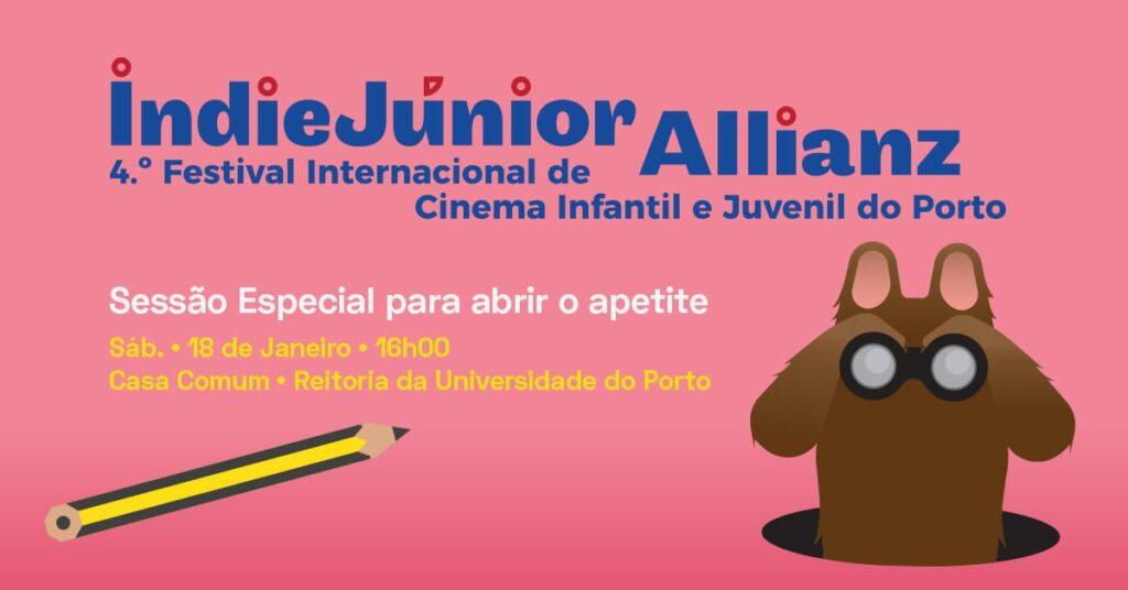 IndieJúnior Allianz | Sessão Especial para abrir o apetite
