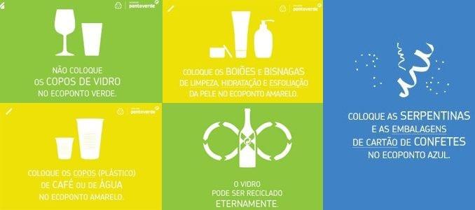 Dicas da Sociedade Ponto Verde para um Carnaval amigo do ambiente