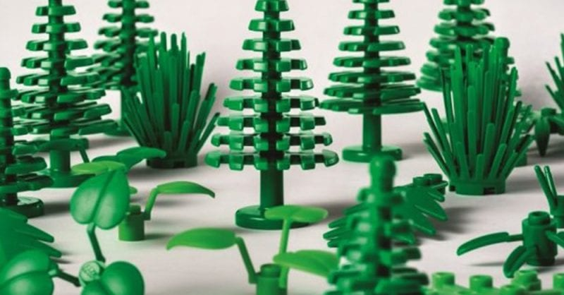 LEGO®Plants from Plants: brinquedos sustentáveis!