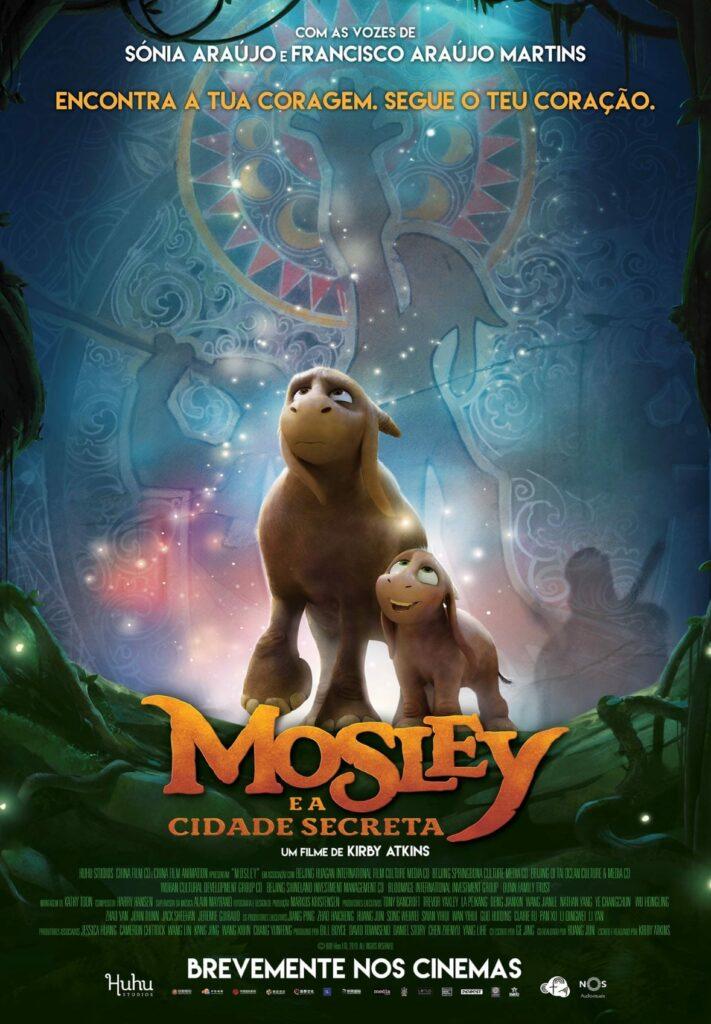 mosley e a cidade secreta poster