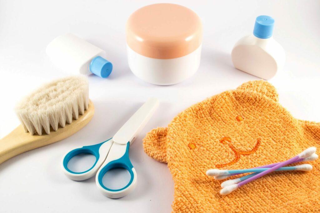 produtos de higiene enxoval de bebé