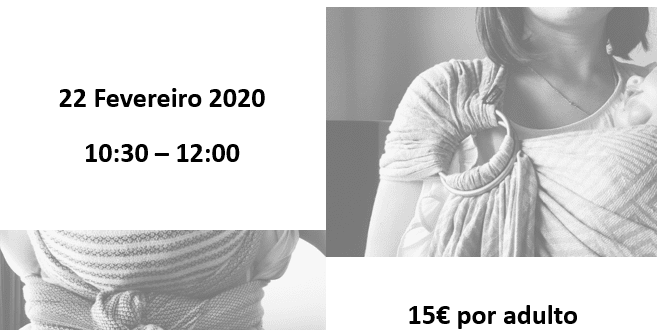 Workshop de Babywearing – Évora