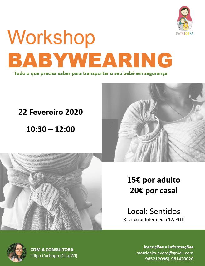 Workshop de Babywearing – Évora
