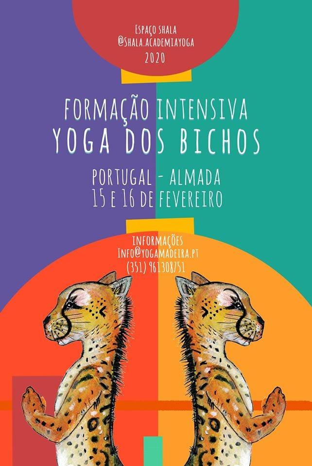 Formação Intensiva de Yoga dos Bichos em Portugal (Almada)