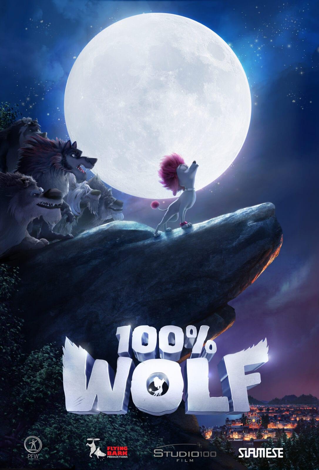 filme 100% wolf poster