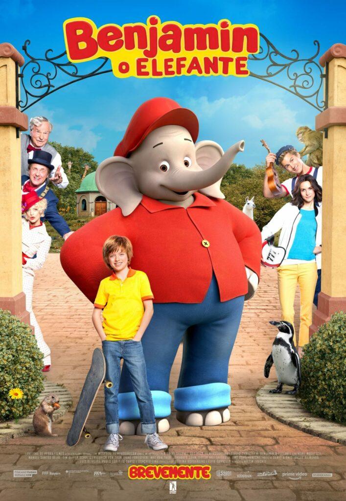 Benjamin o elefante poster