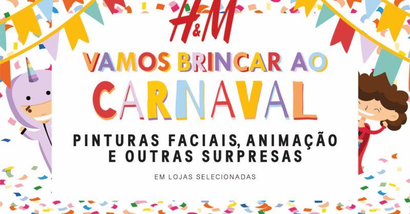 Carnaval e Pinturas Faciais na H&M? Sim!