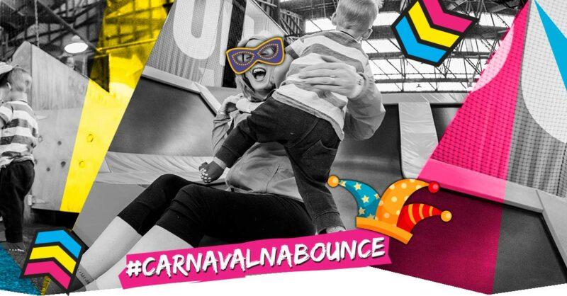 Carnaval na BOUNCE: pulos de folia!