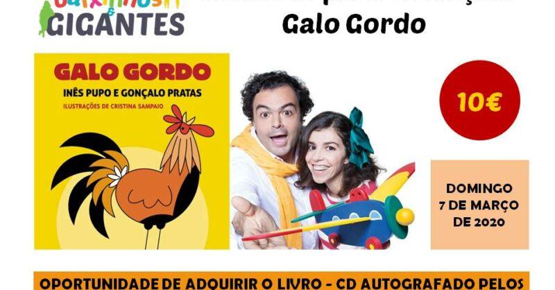 """Concerto – """"Canta o galo gordo!"""""""