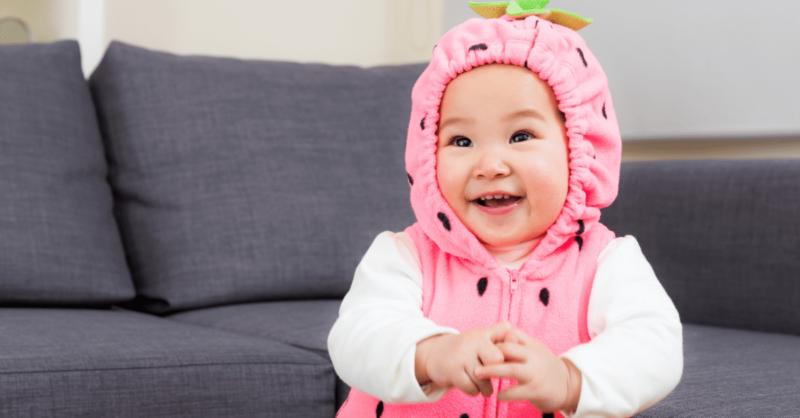 Fatos de carnaval para bebés