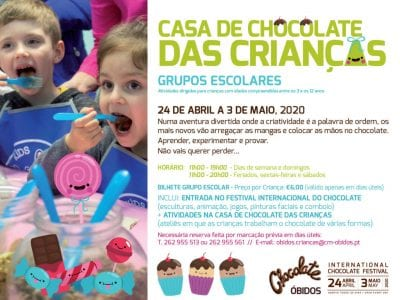 Festival do Chocolate de Óbidos - Escolas