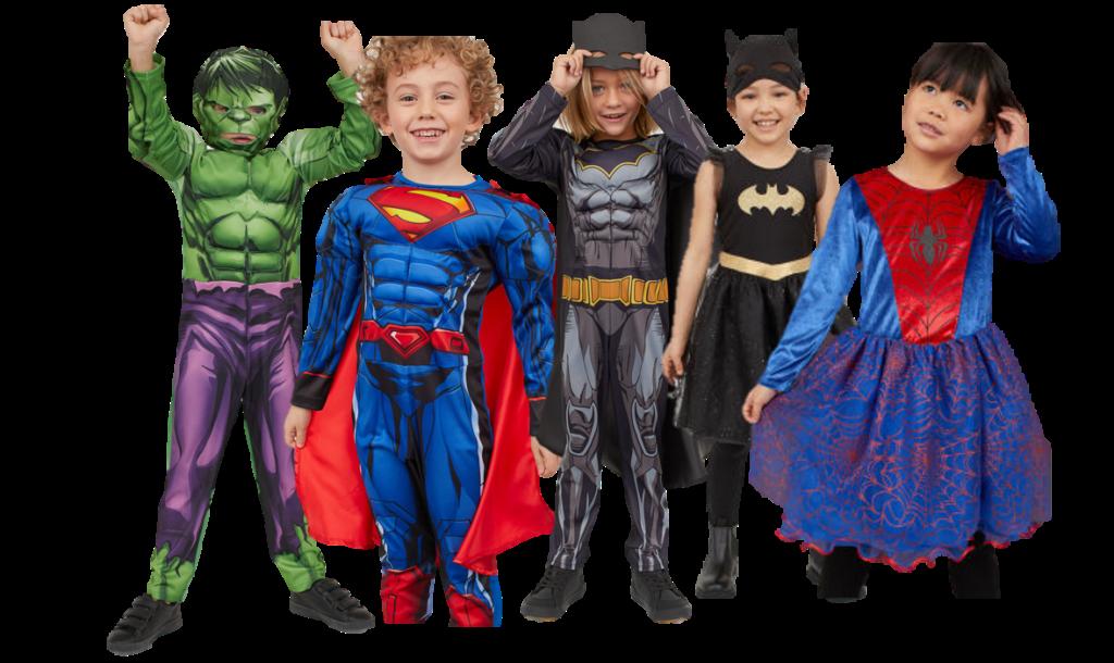 H&M Super Heróis Carnaval