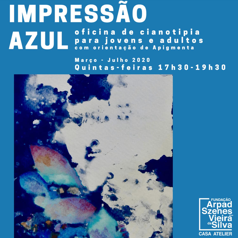 IMPRESSÃO AZUL