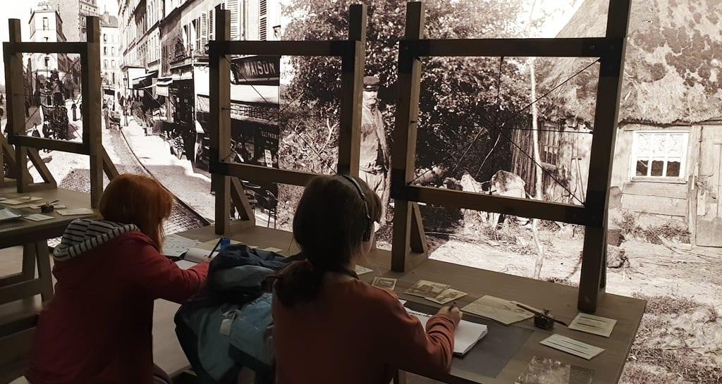 Exposição Meet Vincent Van Gogh Mesas de perspectiva
