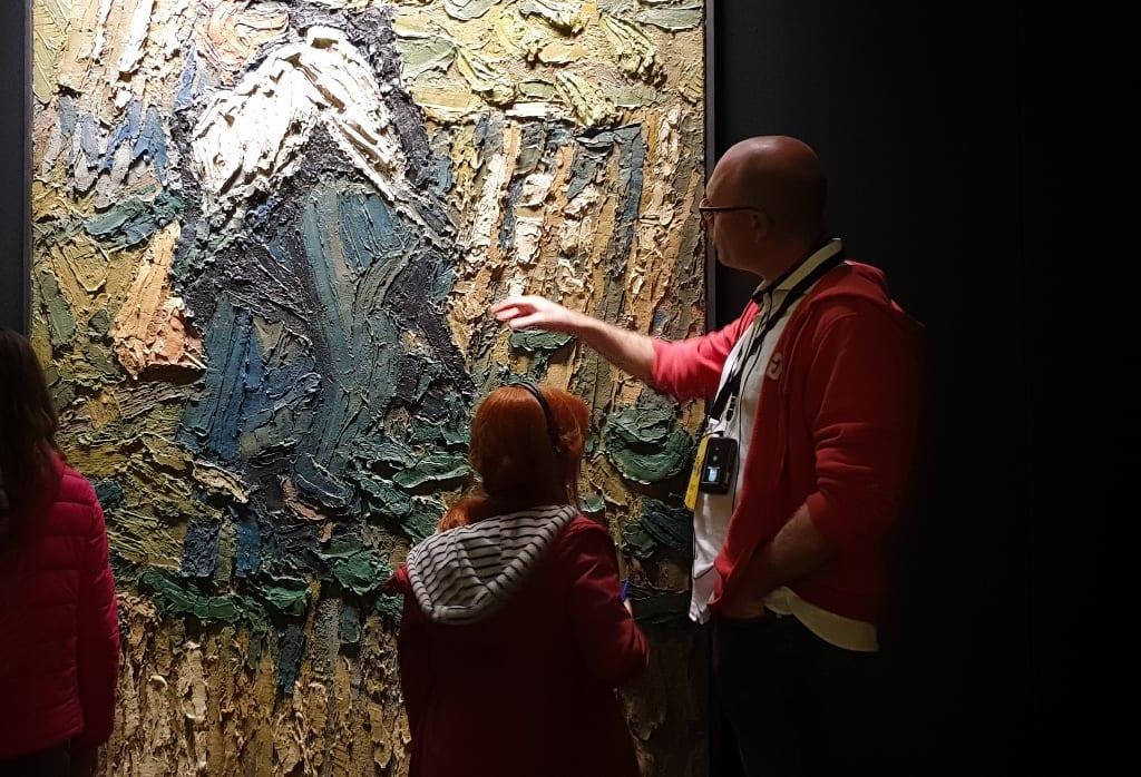 Exposição Meet Vincent Van Gogh Tocar pintura