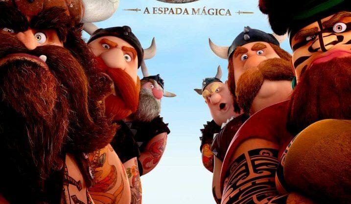 """""""Vic o Viking: A Espada Mágica"""": o pequeno e inteligente herói!"""