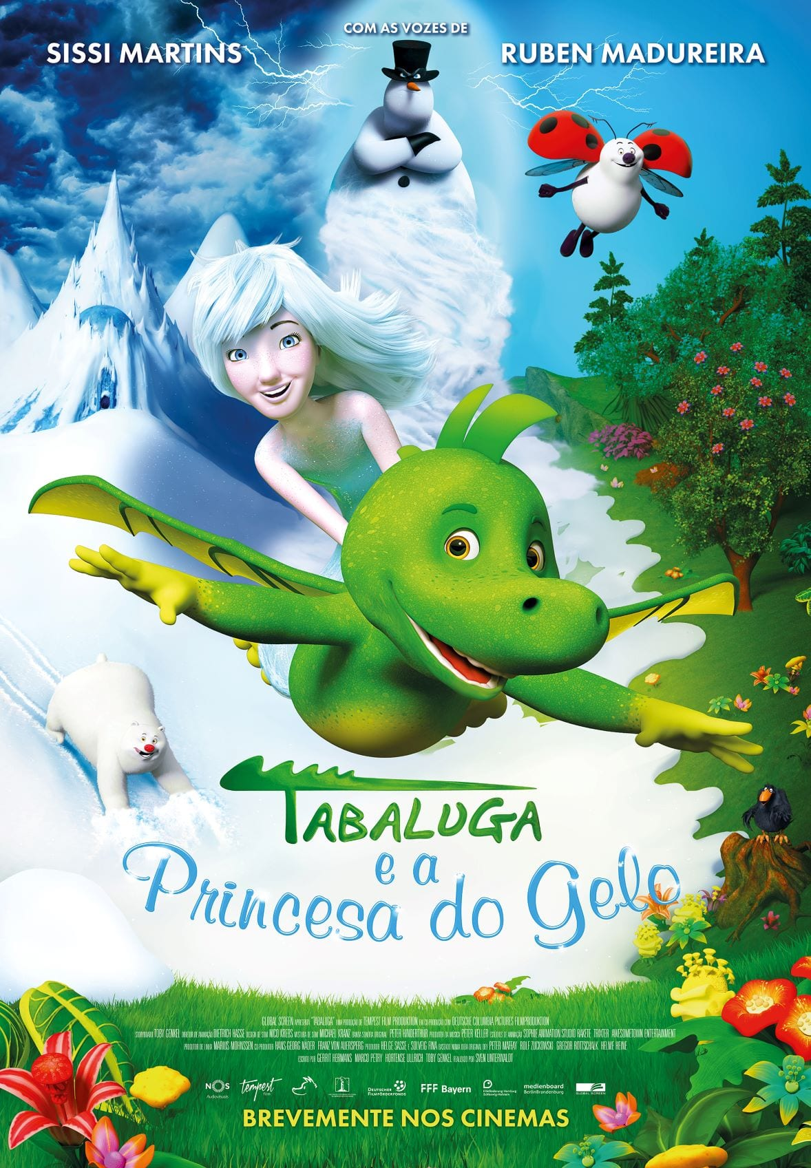 TABALUGA E A PRINCESA DO GELO POSTER