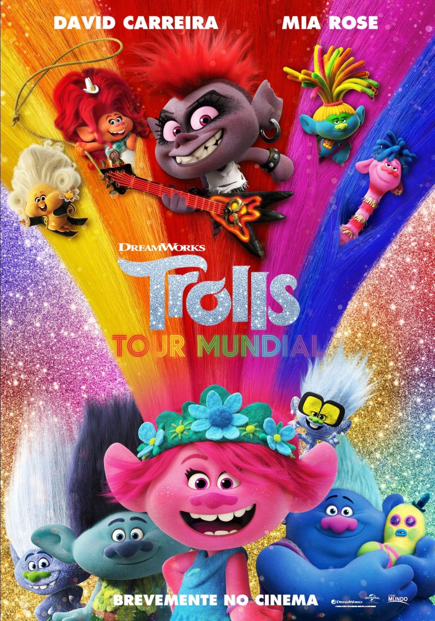 Trolls Tour mundial Poster