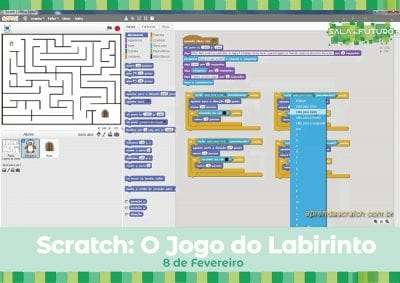 Workshop  Scratch: o jogo do labirinto
