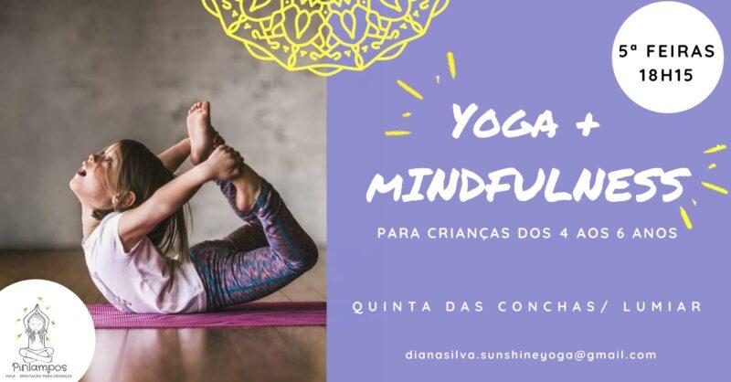 Aulas de Yoga e Mindfulness para Crianças