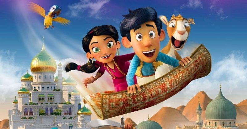 """Filme """"Aladino e o Tapete Mágico"""": O céu é o limite!"""